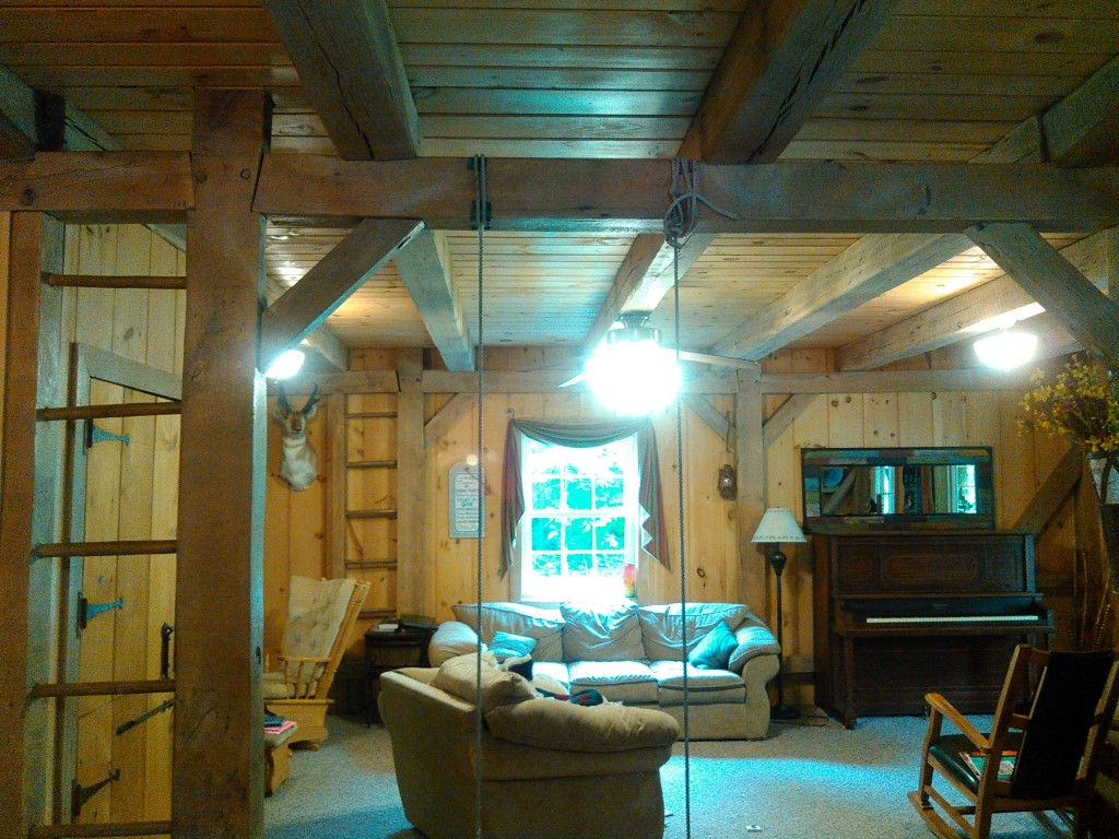 River Valley Woodworks Reclaimed Beams