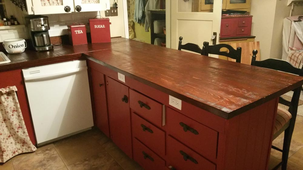 River Valley Woodworks Countertop