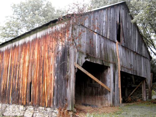 River Valley Woodworks Barn Dismantling