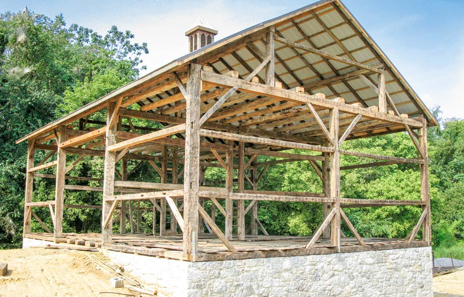 River Valley Woodworks: building durable barns from reclaimed wood