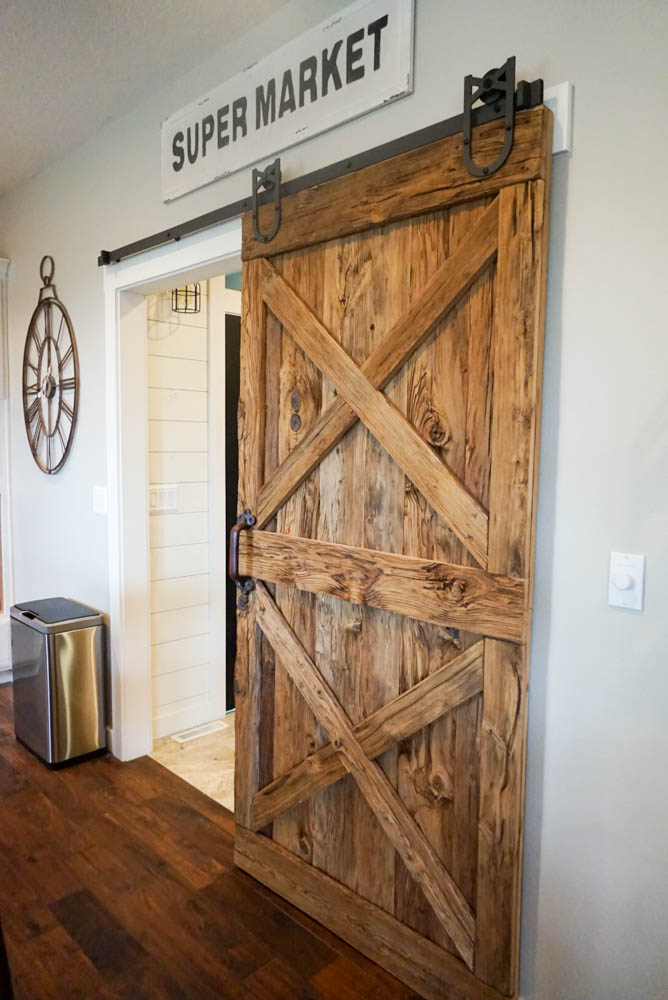 Rustic Wood Sliding Barn Door : wood doors - pezcame.com