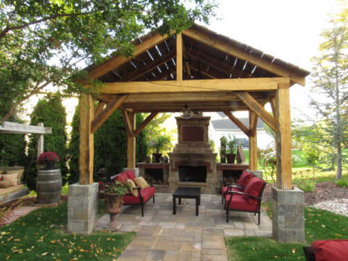 River Valley Woodwork Patio