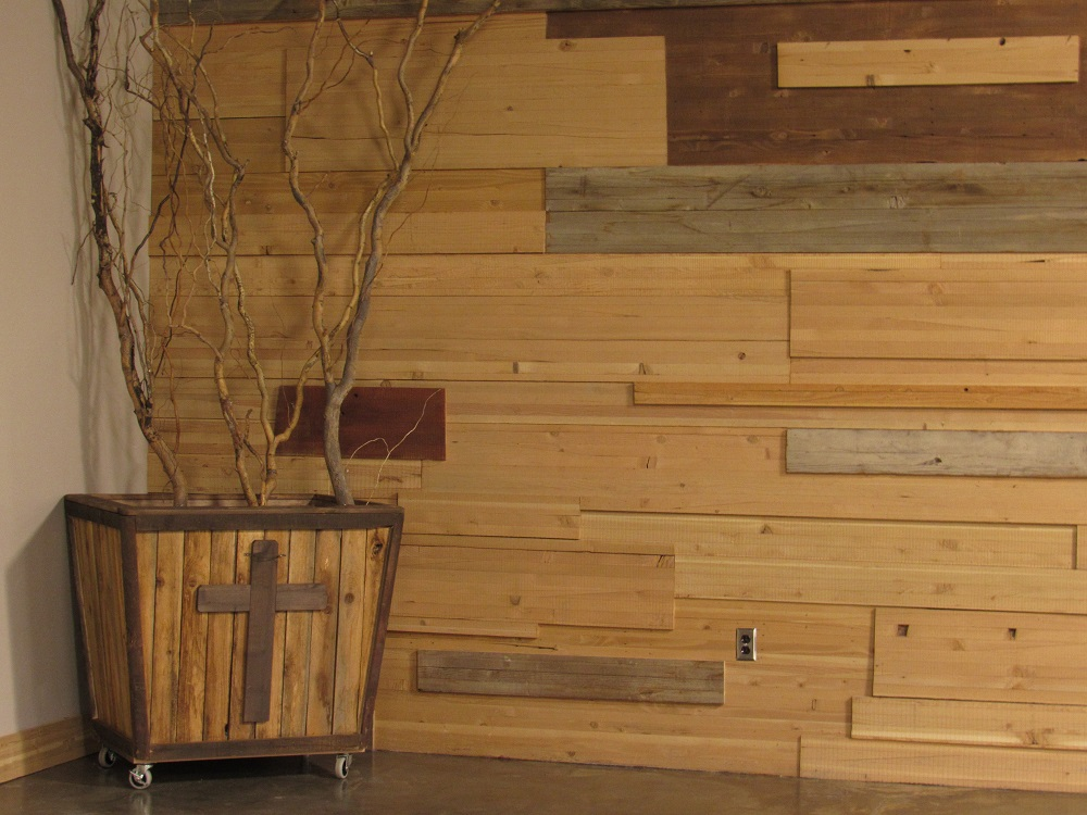 River Valley Woodworks Wood Paneling
