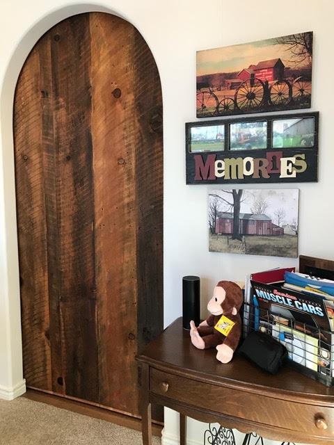Rustic Wood Sliding Door U2013 Interior View